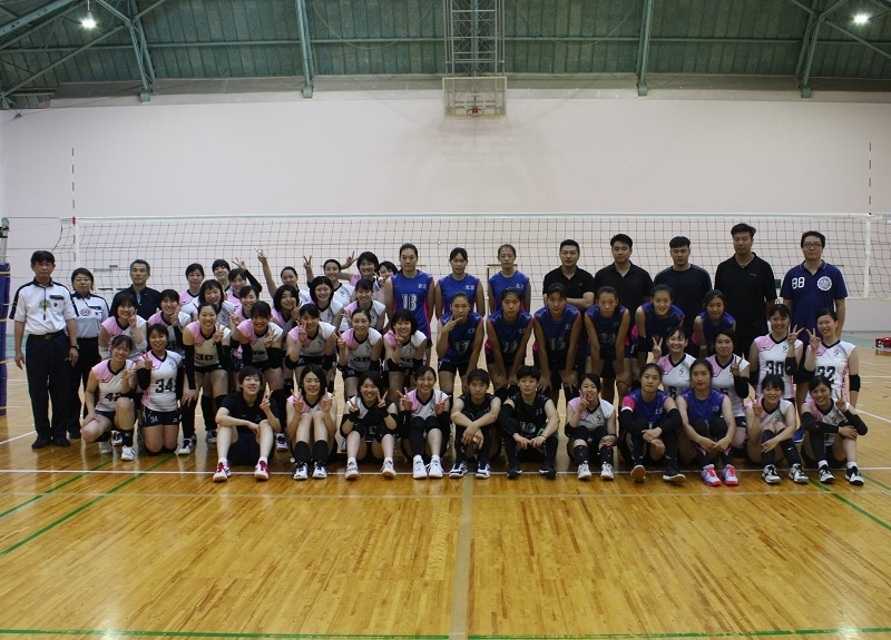 北京代表チームと神戸親和女子大学 集合写真