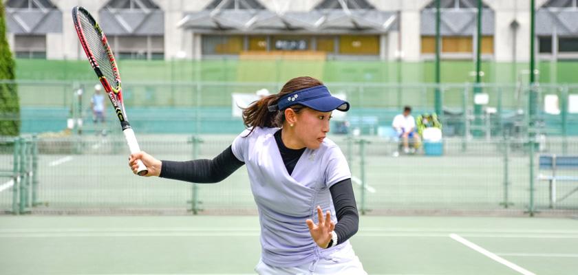 写真:テニス部