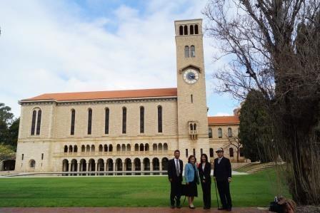 西オーストラリア大学校舎